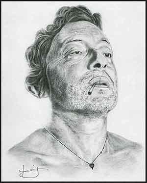 Serge Gainsbourg par portraitemoi